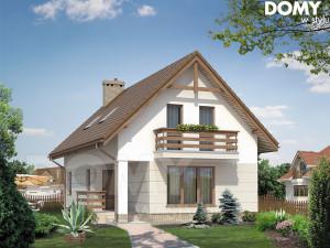 projekt domu bez garażu