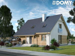 projekty domów 140m2
